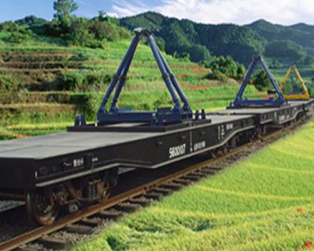 运梁重型铁路平车