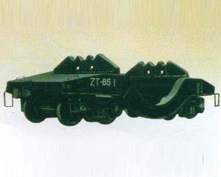 65t铁水车架