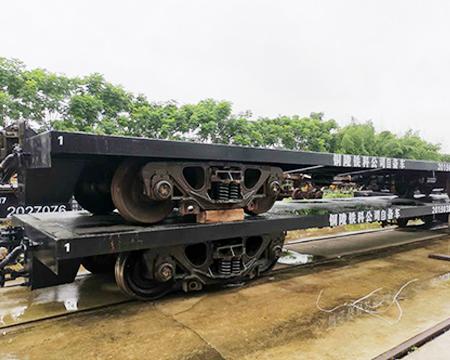 30t铁路平车(构架式转向架)