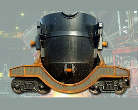 80t铁水车架
