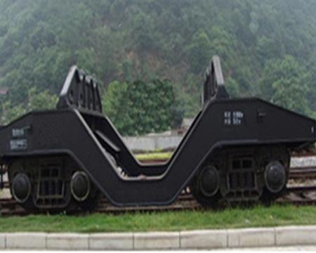 100t铁水车架
