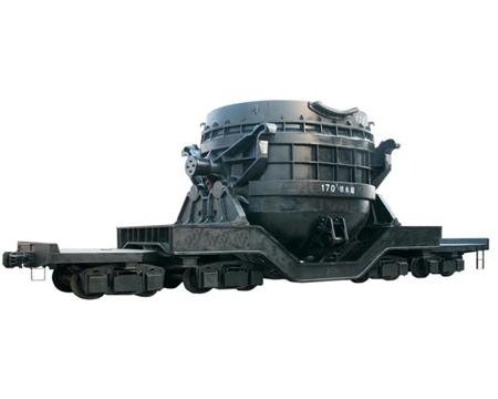 170t铁水车架