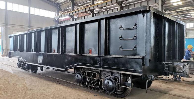 冶金100吨平车修理